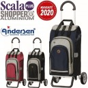 Scala Shopper Plus Hydro 2.0. Chariot 2 roues 62L Andersen