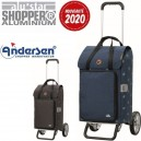 Alu Star Shopper Ivar. Chariot 2 roues 44L + Poche isotherme - A