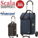 Scala Shopper Ivar. Chariot 2 roues 44L + Poche isotherme - Ande