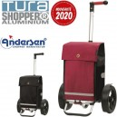 TURA Shopper Martje. Chariot XXL 2 roues 601L - Andersen