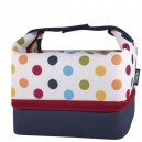 Dots & Stripes Sac bento lunch box 3 compartiments  - Thermos