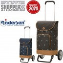 Alu Star Shopper Holm. Chariot 2 roues 41L - Andersen Shopper