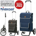 Alu Star Shopper Tamo. Chariot 2 roues 51L + Poche isotherme - A